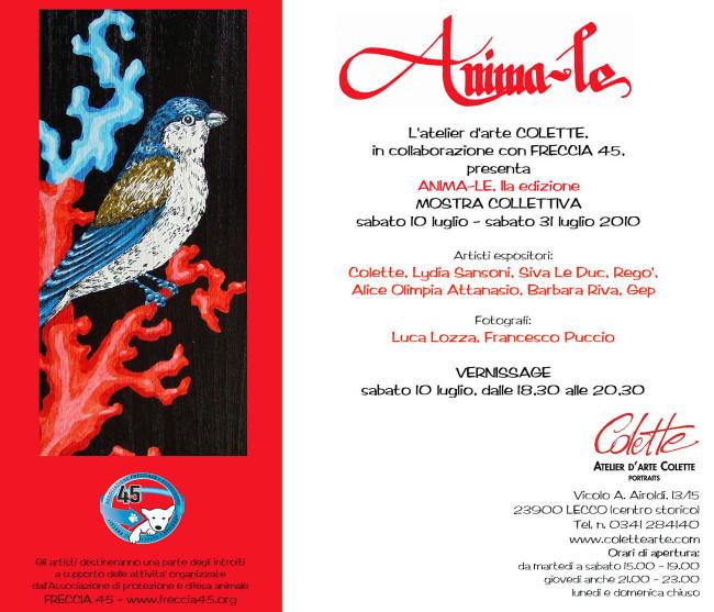 2010.07.10 - Mostra ANIMA-le, IIa edizione