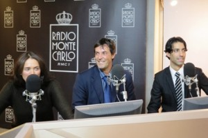2012.11 - Radio Monte Carlo con Massimo ed Aldo Benato